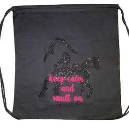 "Beutel ""KEEP CALM AND VAULT ON"""
