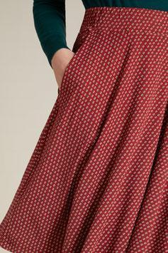Serena Skirt orange  mit Taschen - KL