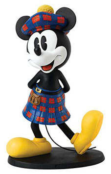 Disney Enchanting - Scottish Mickey Mouse statement figurine - A27543