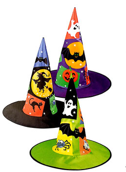 59608 - WITCH HAT HALLOWEEN SHAPES