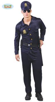 POLIZIOTTO - 80180   Taglia Unica  Uomo  ( Accessori ESCLUSI)