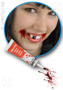TUBETTO SANGUE FINTO ML.15 - 7351