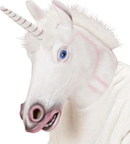 96653 - Maschera Unicorno Bianca