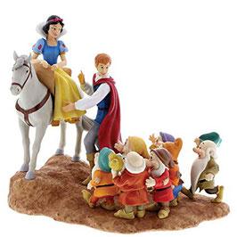 Disney Enchanting - A joyful farewell (Snow White, Prince & The Seven Dwarks figurine) - A28731