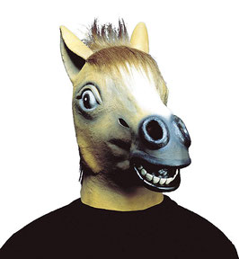 8371C - Maschera Cavallo Marrone