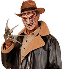 00360 - Maschera da Assassino Ustionato a Mezzo Viso