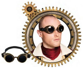 554503 - Glasses Cyberpunk
