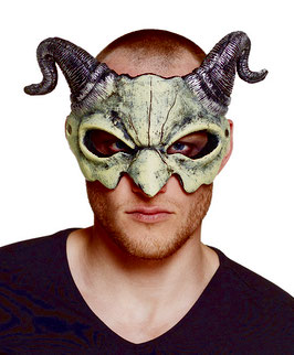 572150 - Foam half mask Devil skull