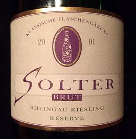 2001 Solter Brut Reserve Riesling Sekt, Berg Roseneck