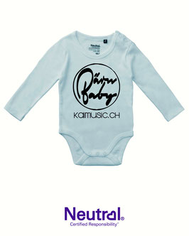 "Baby Body Langarm ""BärnBaby"" by kaimusic.ch"