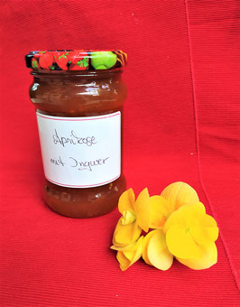 Konfitüre Aprikose mit Ingwer 350 gr.