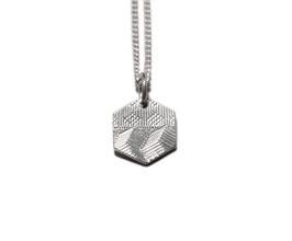 Kette 'Sechseck' - Silber