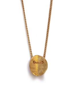 Kette '1-faltig rund' - Gold