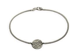 Armband 'rund groß' - Silber