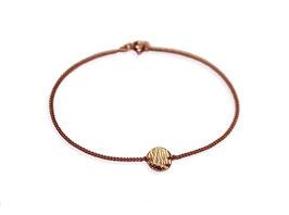 Armband 'rund klein' - Rosé