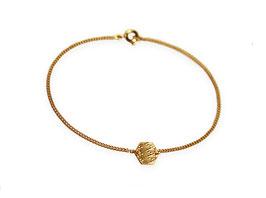 Armband 'Sechseck klein' - Gold