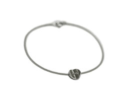Armband '1-faltig' - Silber