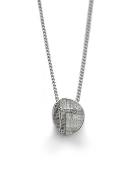 Kette '1-faltig rund' - Silber