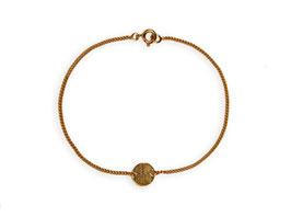 Armband 'rund klein' - Gold