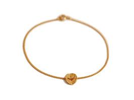 Armband '1-faltig' - Gold