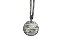 Kette 'rund' - Silber