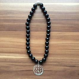 Halskette mit Matrix-Anhänger Selbstvertrauen