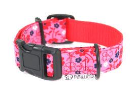 Halsband Flower pink