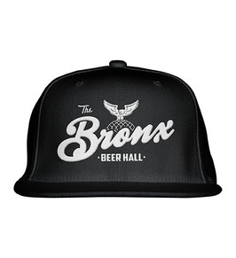 The Bronx Beer Hall Hat (WHITE ON BLACK)