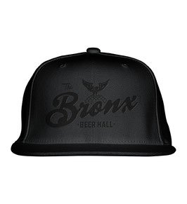 The Bronx Beer Hall Hat (BLACK ON BLACK)