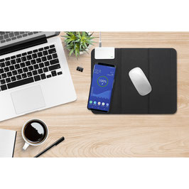 Mouse Pad VoltBeam Switch with Wireless Charger 10W schwarz
