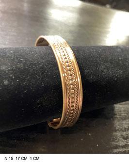 Bracelet aimant cuivre N15