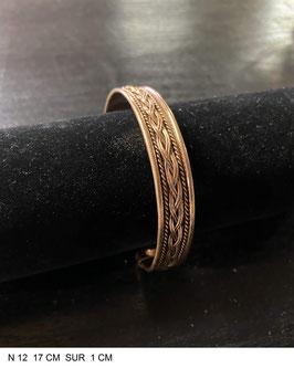 Bracelet aimant cuivre N12