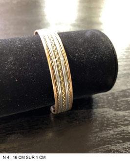 Bracelet aimant cuivre N4