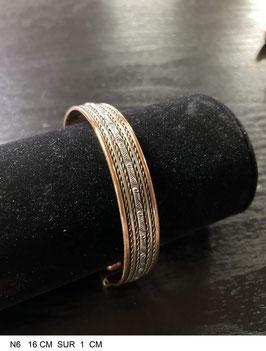 Bracelet aimant cuivre N6