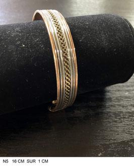 Bracelet aimant cuivre N5