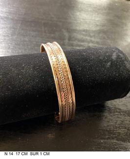 Bracelet aimant cuivre 14