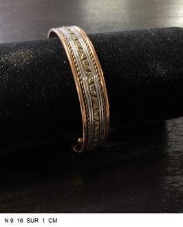 Bracelet aimant cuivre N9