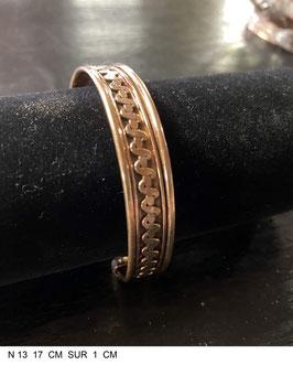 Bracelet aimant cuivre N13