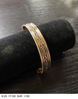 Bracelet aimant cuivre N20