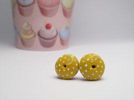 Mini donuts citron à pois