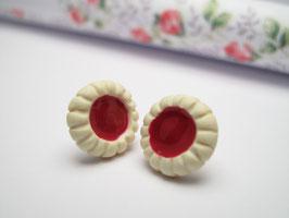 Petites tartelettes à la confiture de fraise
