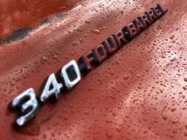 VERKOCHT Originele Dodge Challenger Rallye 340 CUI