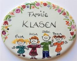 Family  BLÜTE    Typ  U Größe 245 x180 mm    86€