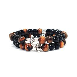 Buddha - Black - Tiger-eye Combo