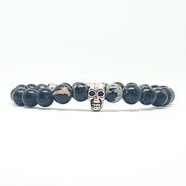 Skull - Black Marble