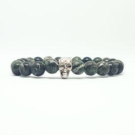 Skull - Green Bamboo