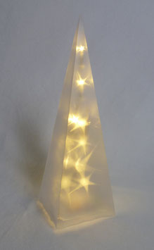 Pyramide mit Hologramm-Effekt