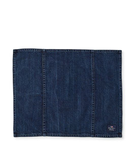 Placemat – Icons Cotton Twill  Denim