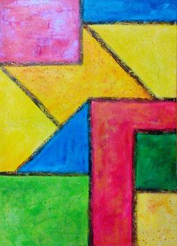 Multicolorido      (partie GAUCHE du diptyque)