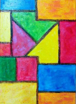 Multicolorido      (partie DROITE du diptyque)